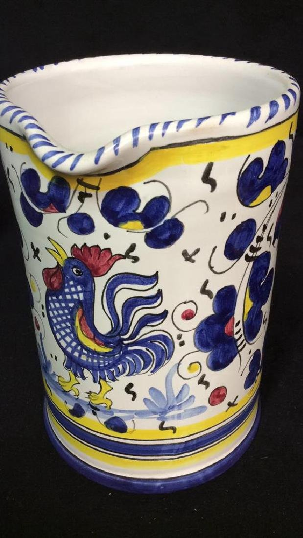 Pottery Group Lot Asian, Vintage, Italy, Portugal - 3