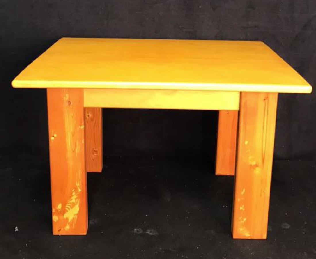 Woodworkers Style Table