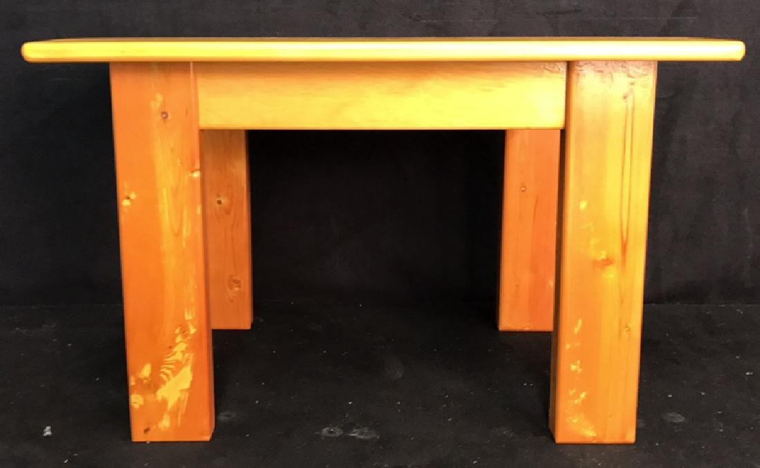 Woodworkers Style Table - 2