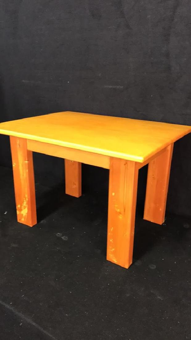 Woodworkers Style Table - 3