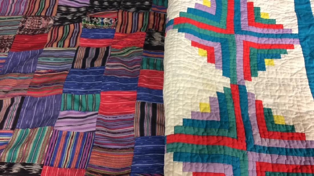 2 Vintage Patchwork Quilts