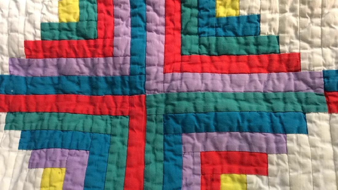 2 Vintage Patchwork Quilts - 2