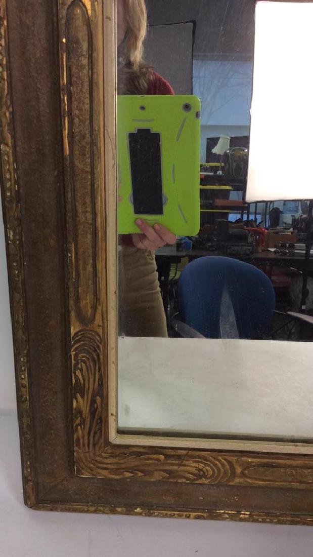 Vintage Gold Framed Mirror - 4