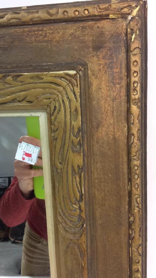 Vintage Gold Framed Mirror - 6