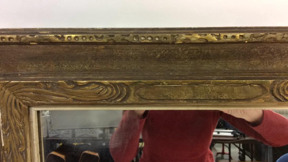 Vintage Gold Framed Mirror - 7