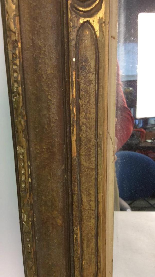 Vintage Gold Framed Mirror - 8