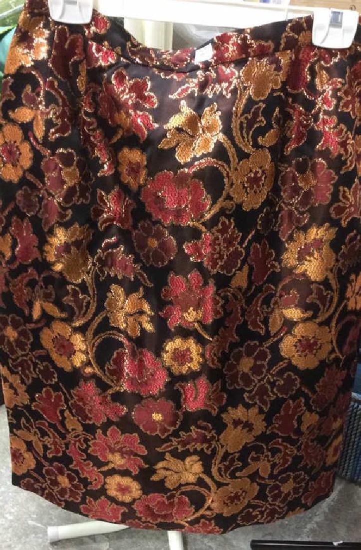 Vintage Glittery Mary McFadden Skirt