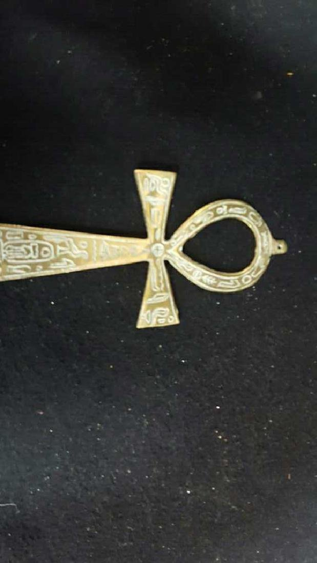 Coptic Anhk & Religous Plaque - 2