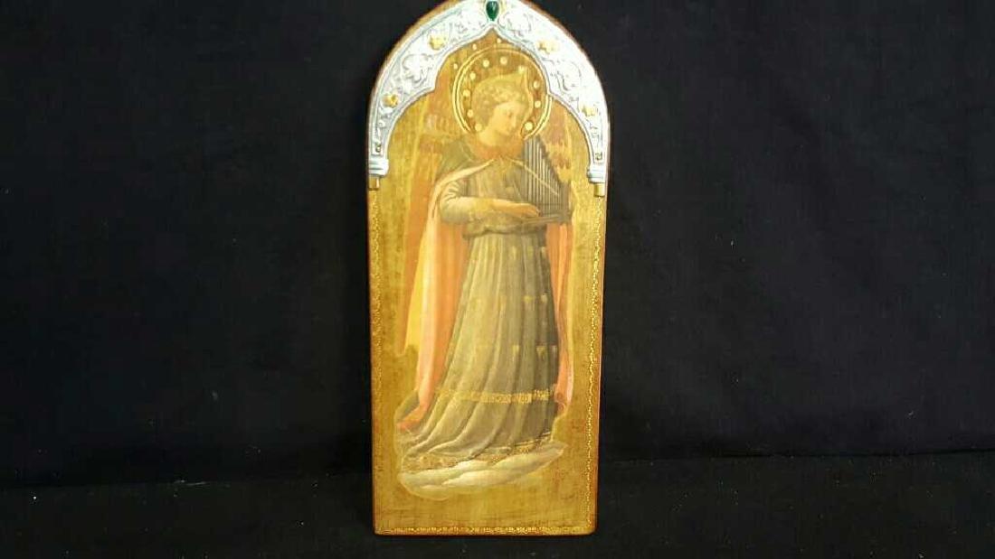 Coptic Anhk & Religous Plaque - 4
