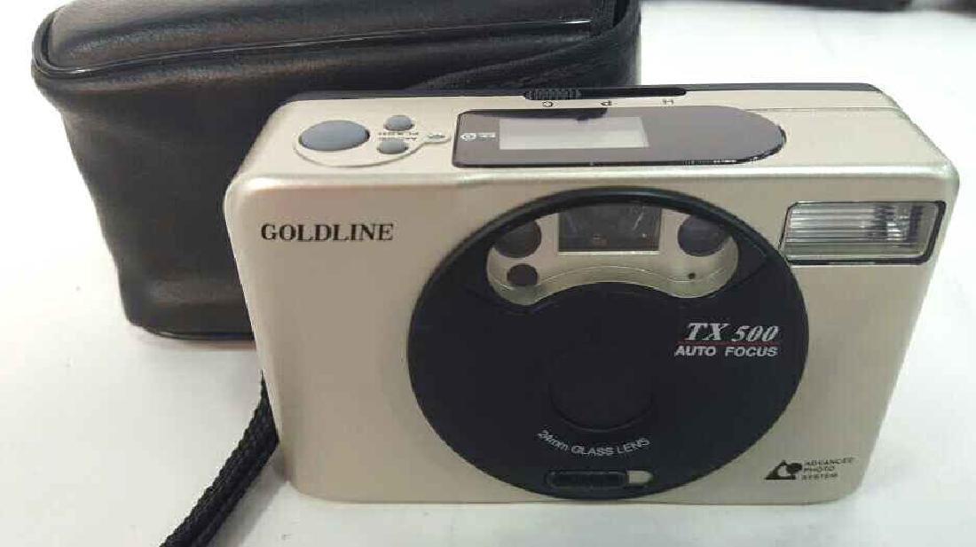 Goldline TX 500 Camera
