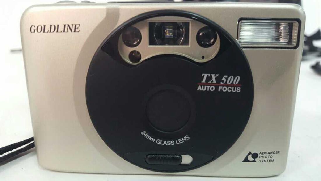 Goldline TX 500 Camera - 2