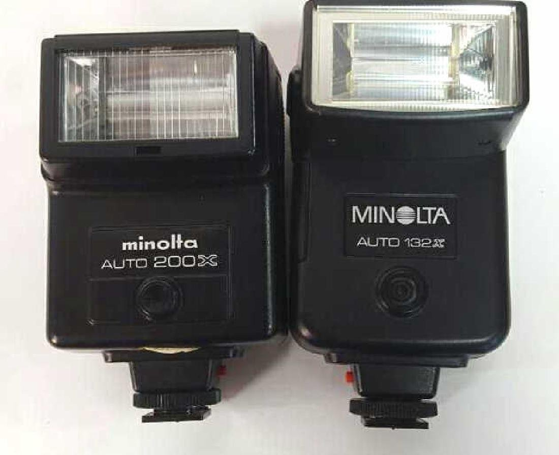 Two Minolta Flash Accessories