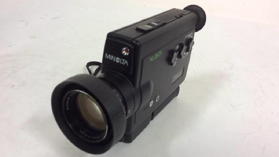 Minolta XL601 Video Camera - 2