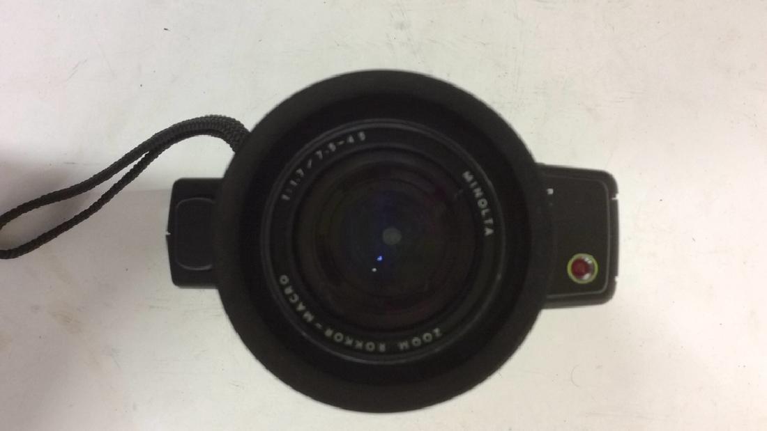 Minolta XL601 Video Camera - 5