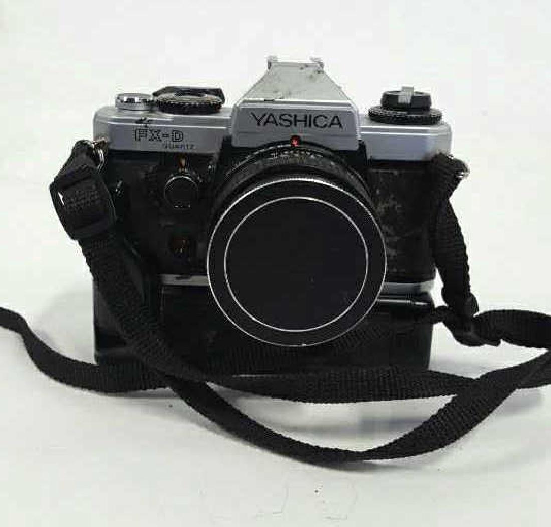 Yashica FX-D Quartz With Lens