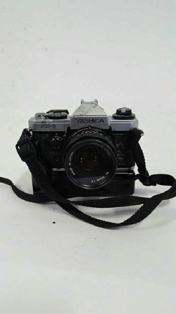 Yashica FX-D Quartz With Lens - 2