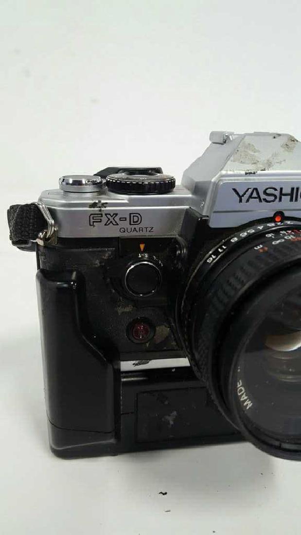 Yashica FX-D Quartz With Lens - 3