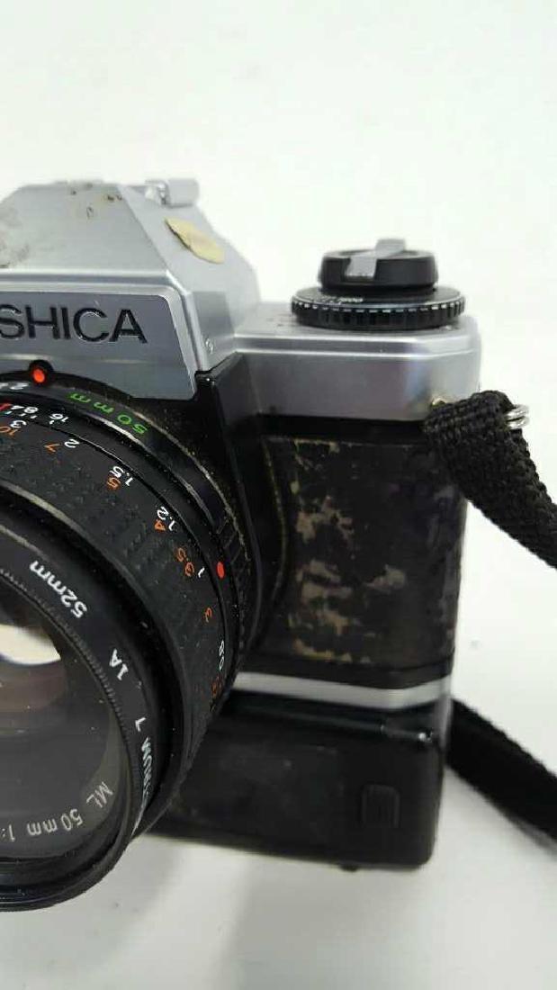 Yashica FX-D Quartz With Lens - 4