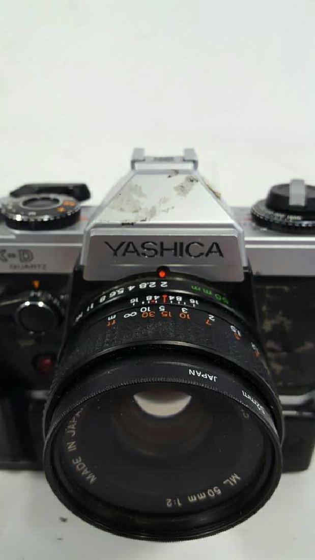 Yashica FX-D Quartz With Lens - 5