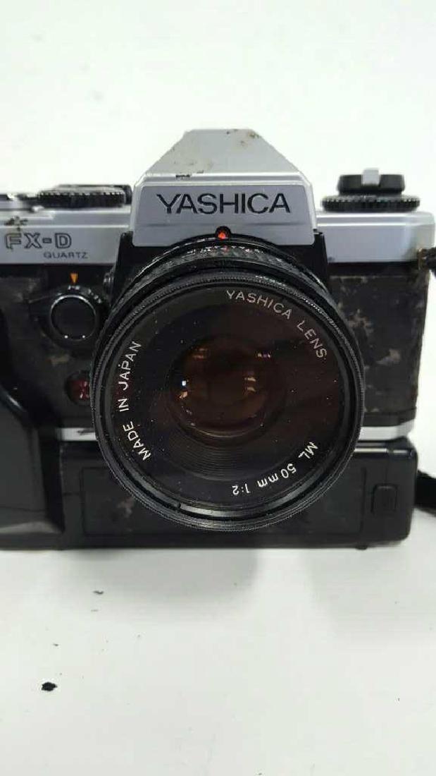 Yashica FX-D Quartz With Lens - 6