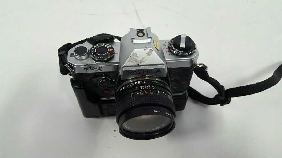 Yashica FX-D Quartz With Lens - 7