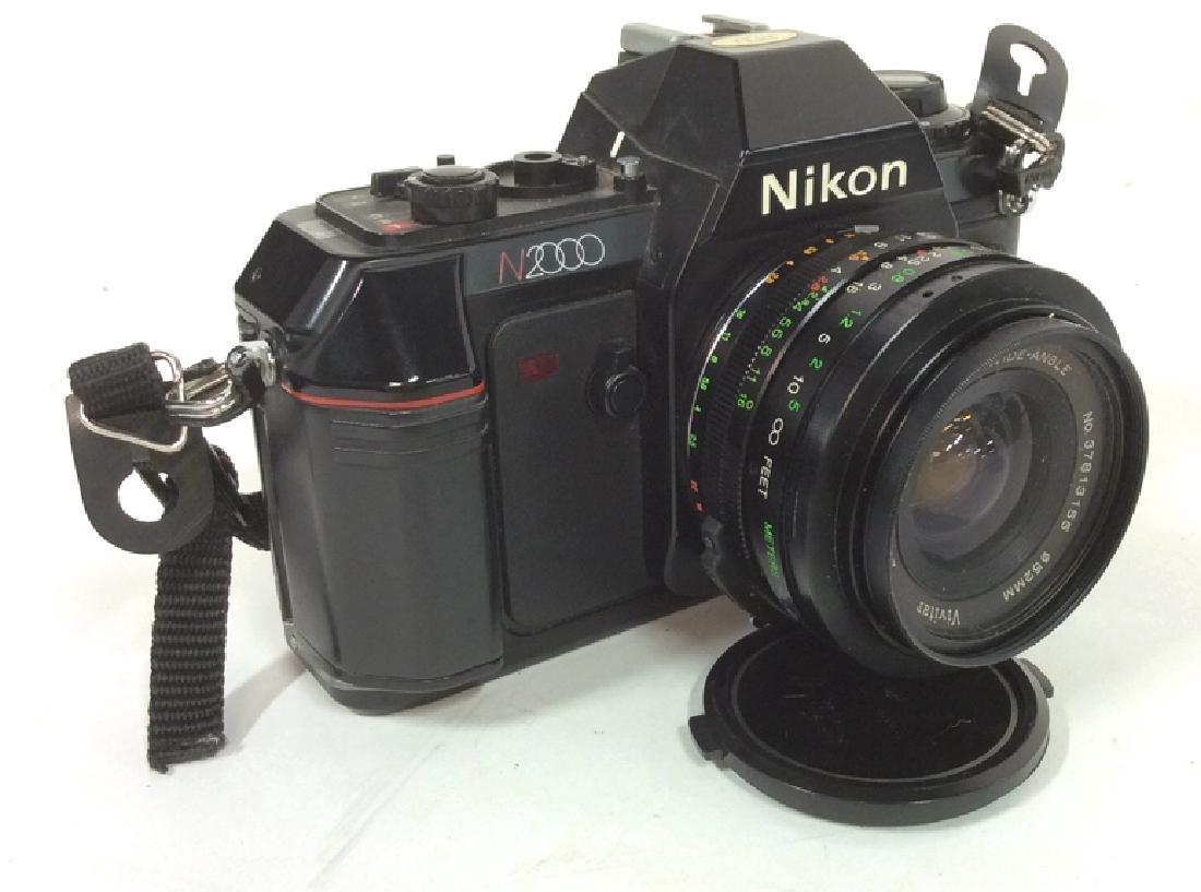Nikon N2000 Camera With Lens Nikon