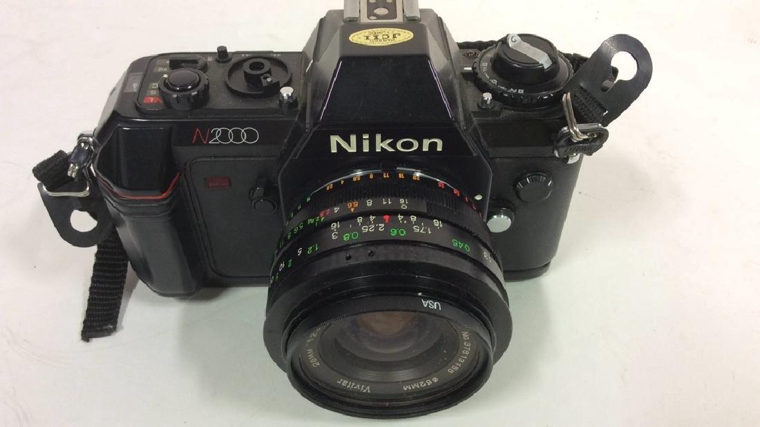 Nikon N2000 Camera With Lens Nikon - 2