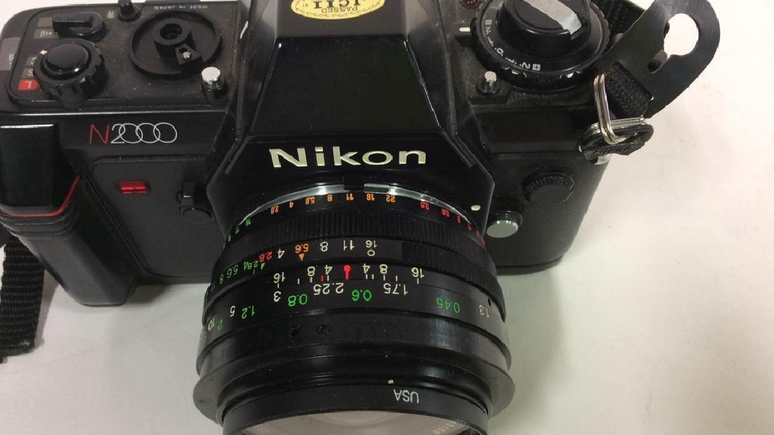 Nikon N2000 Camera With Lens Nikon - 3