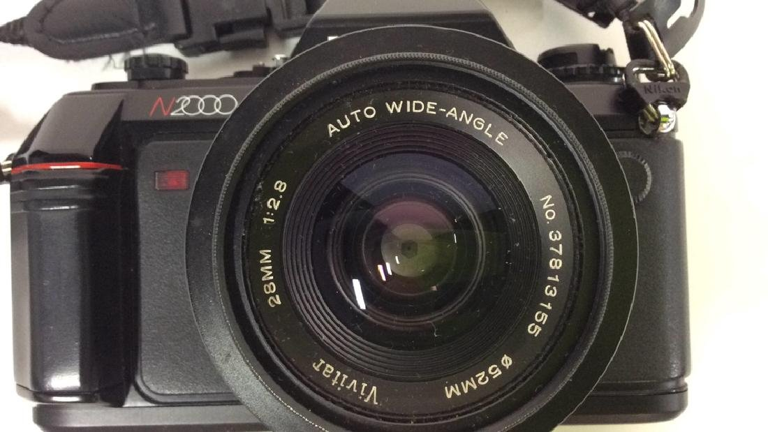 Nikon N2000 Camera With Lens Nikon - 8
