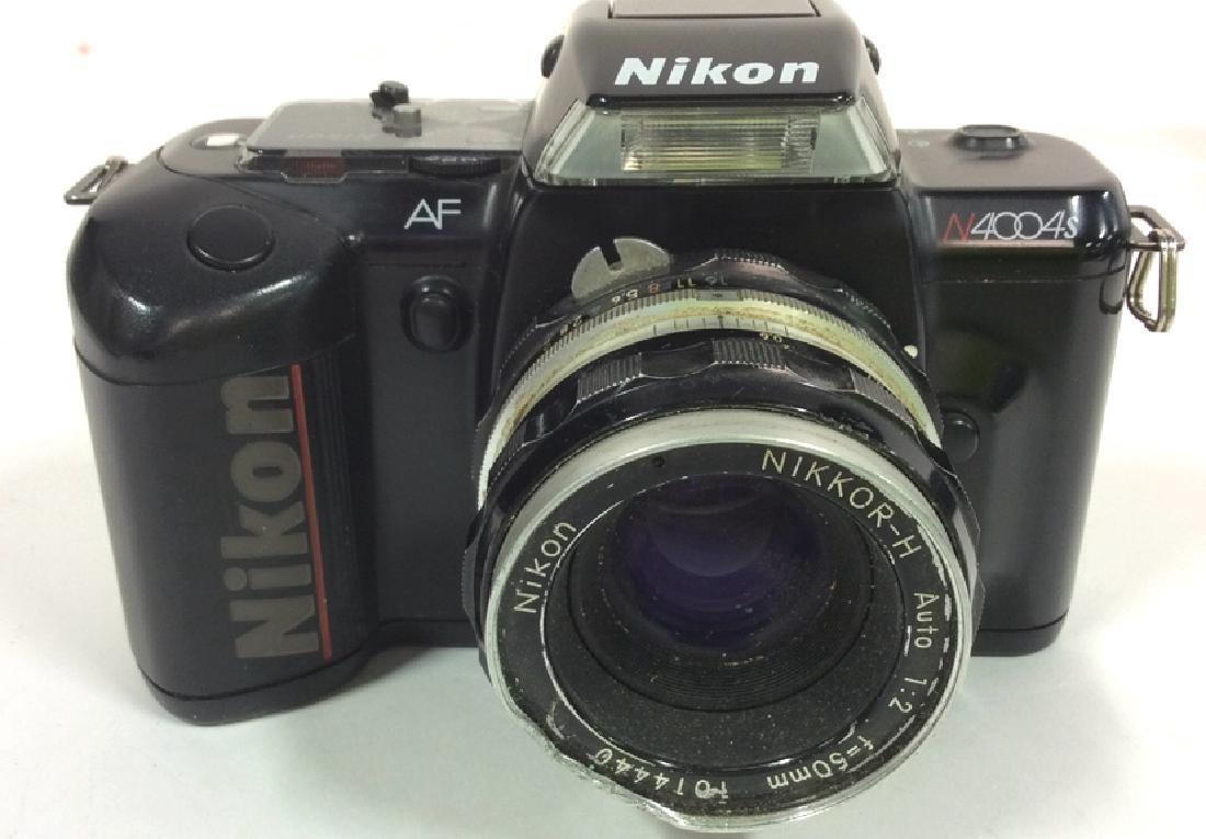 Nikon AF N4004S Camera With Lens