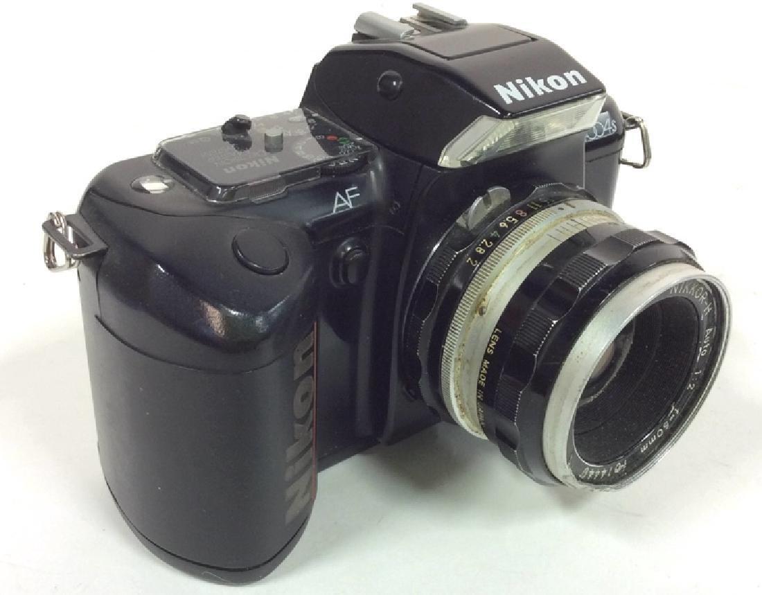 Nikon AF N4004S Camera With Lens - 2