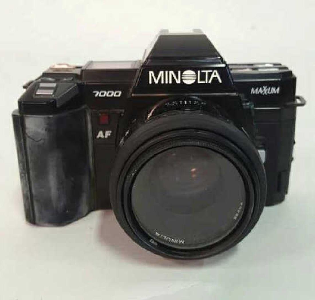 Minolta Maxxum 7000 Camera