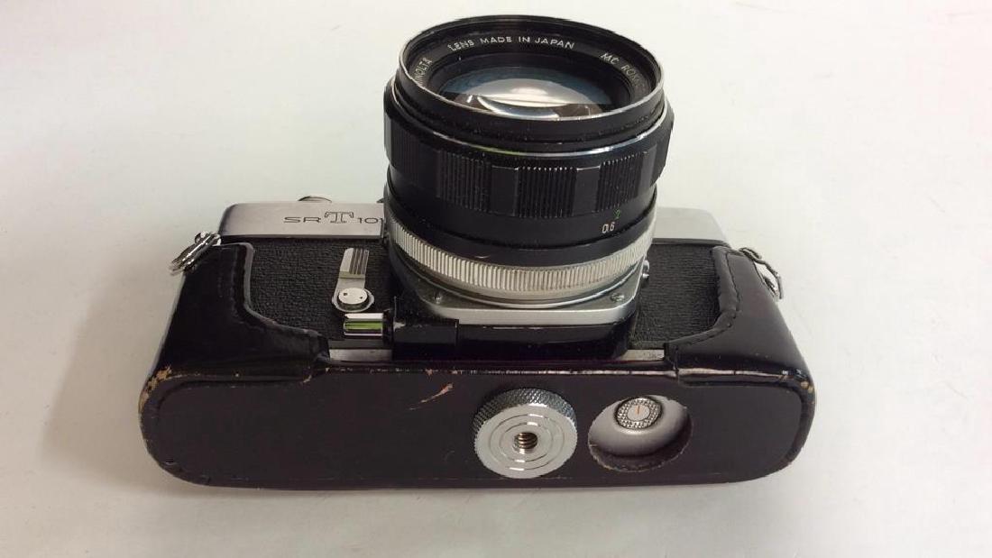 Minolta SR T 101 Camera with Lens - 9