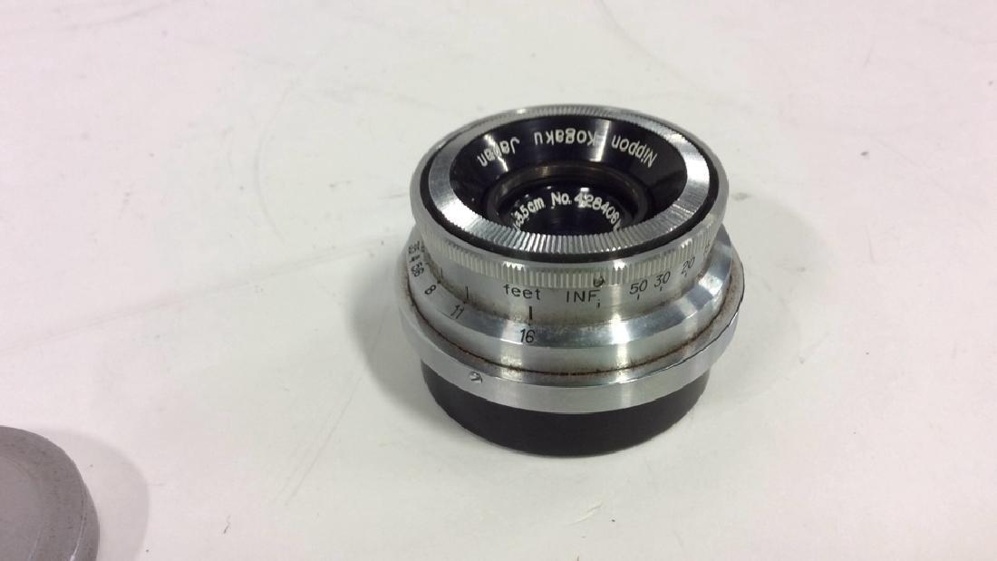 Nippon Kogaku Camera Lens - 3