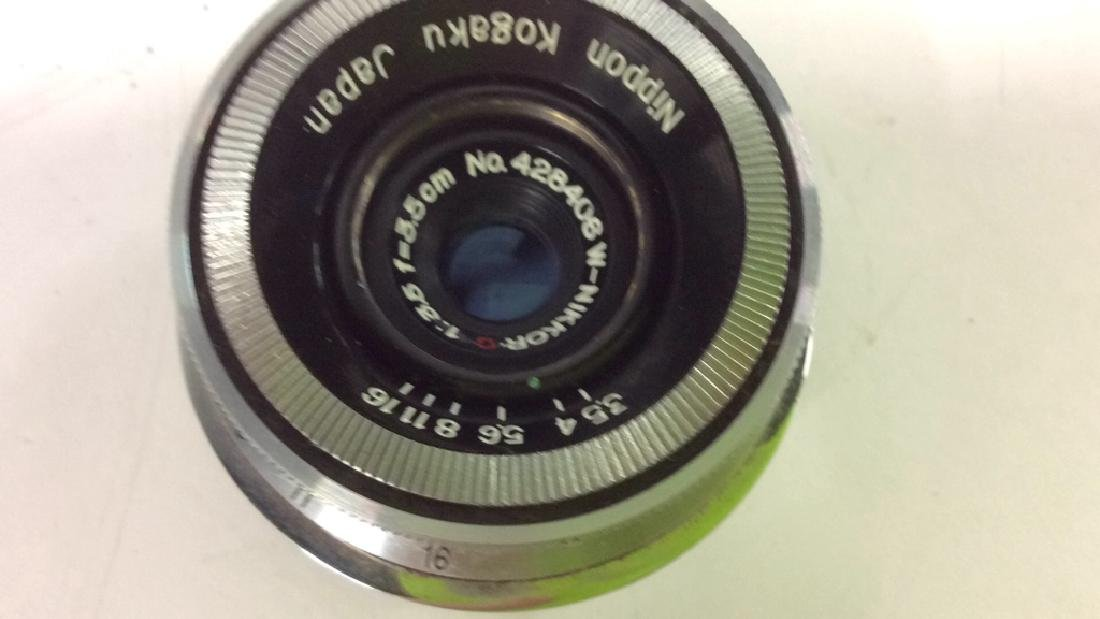 Nippon Kogaku Camera Lens - 4