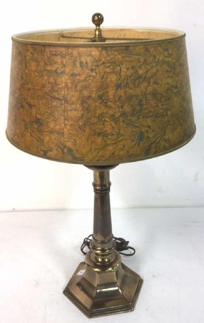 Vintage Stiffel Brass Table Lamp