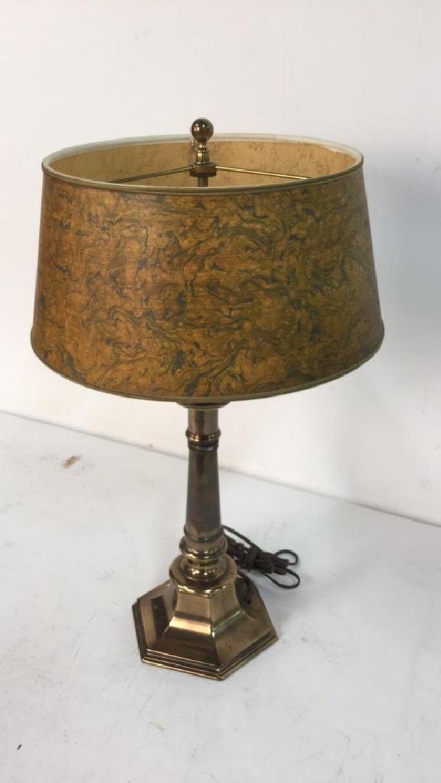Vintage Stiffel Brass Table Lamp - 2