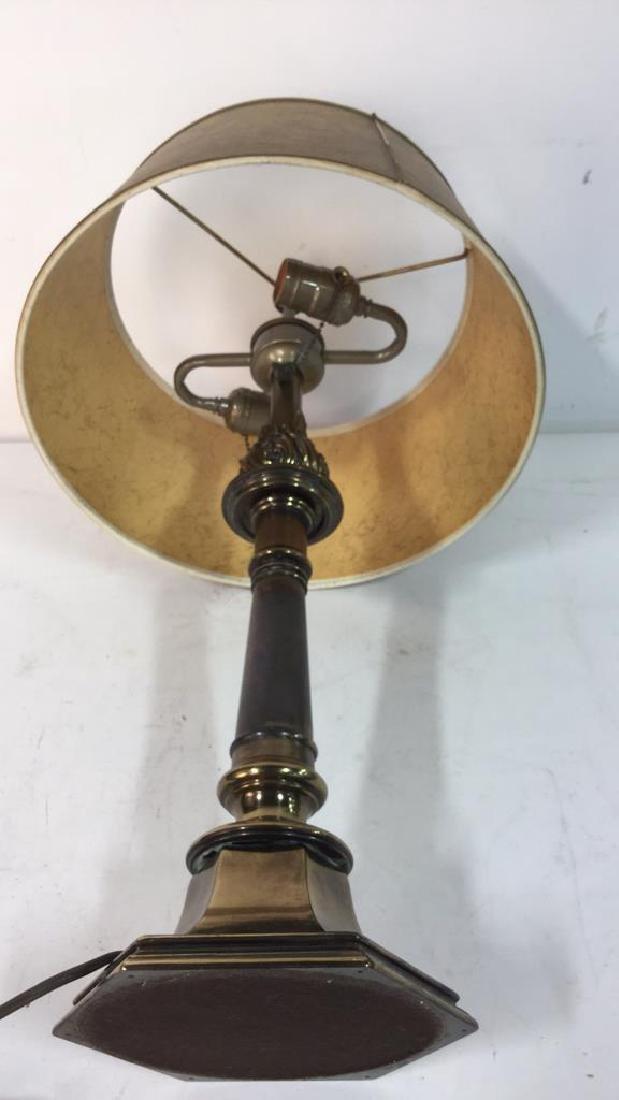 Vintage Stiffel Brass Table Lamp - 4