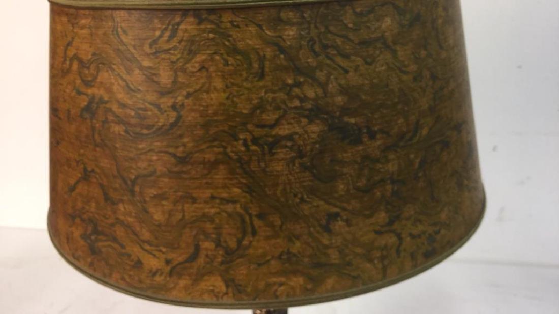Vintage Stiffel Brass Table Lamp - 8