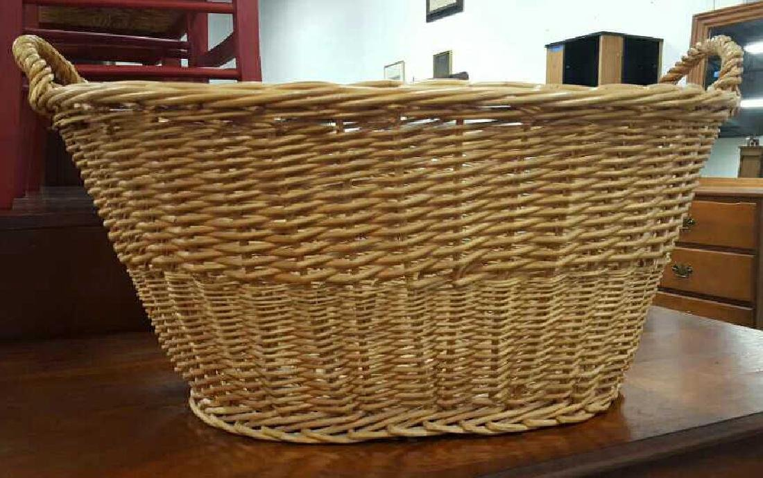 Large Wicker Basket - 2