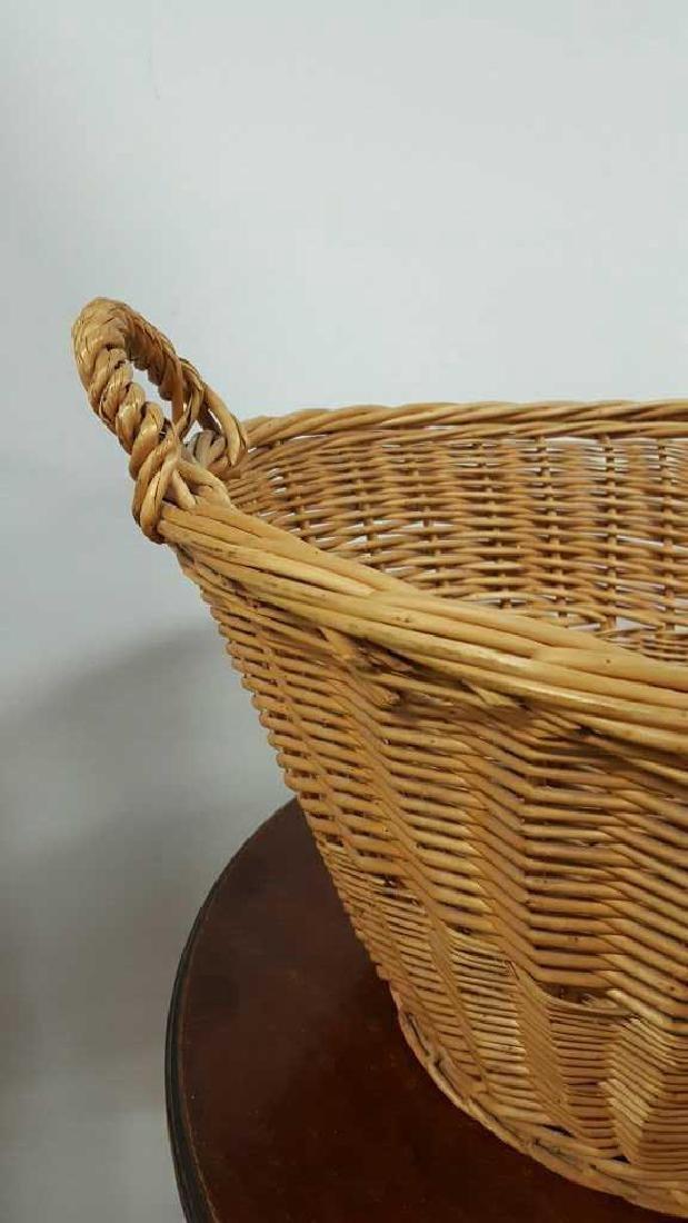 Large Wicker Basket - 3