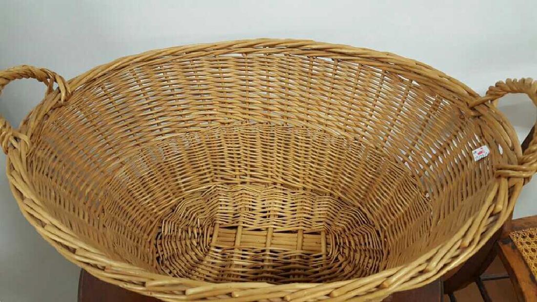Large Wicker Basket - 4