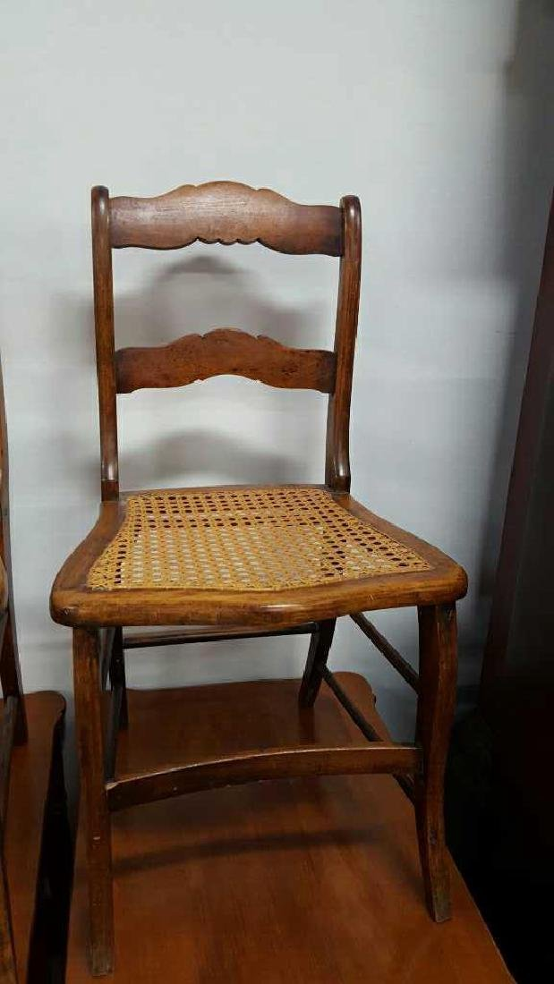 Pair of Ladderback Chairs - 2