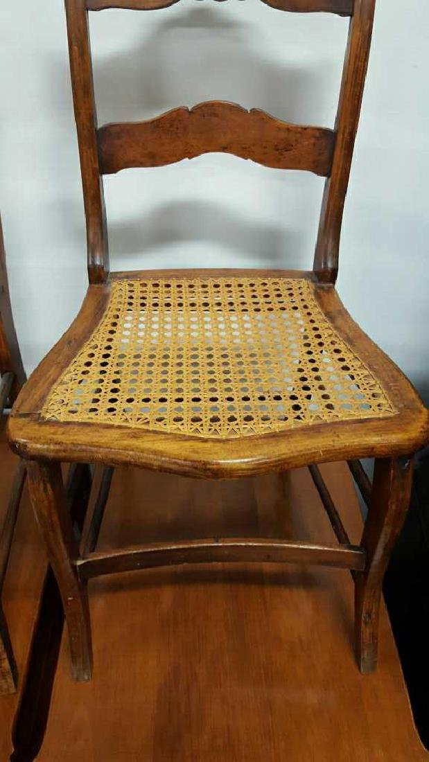 Pair of Ladderback Chairs - 3