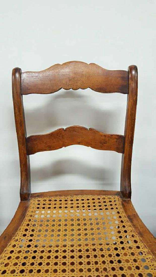 Pair of Ladderback Chairs - 4