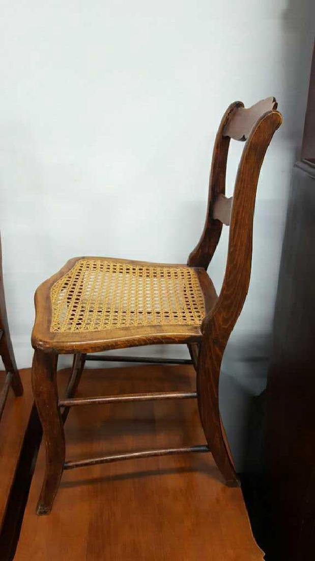 Pair of Ladderback Chairs - 5