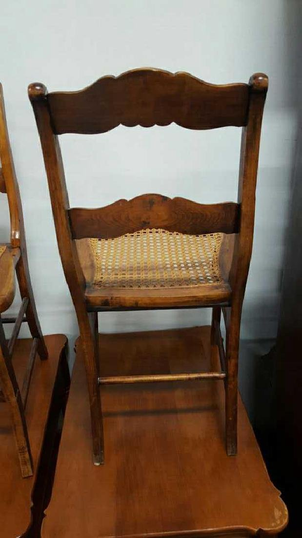Pair of Ladderback Chairs - 6