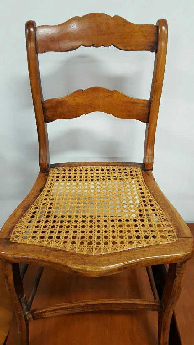 Pair of Ladderback Chairs - 9