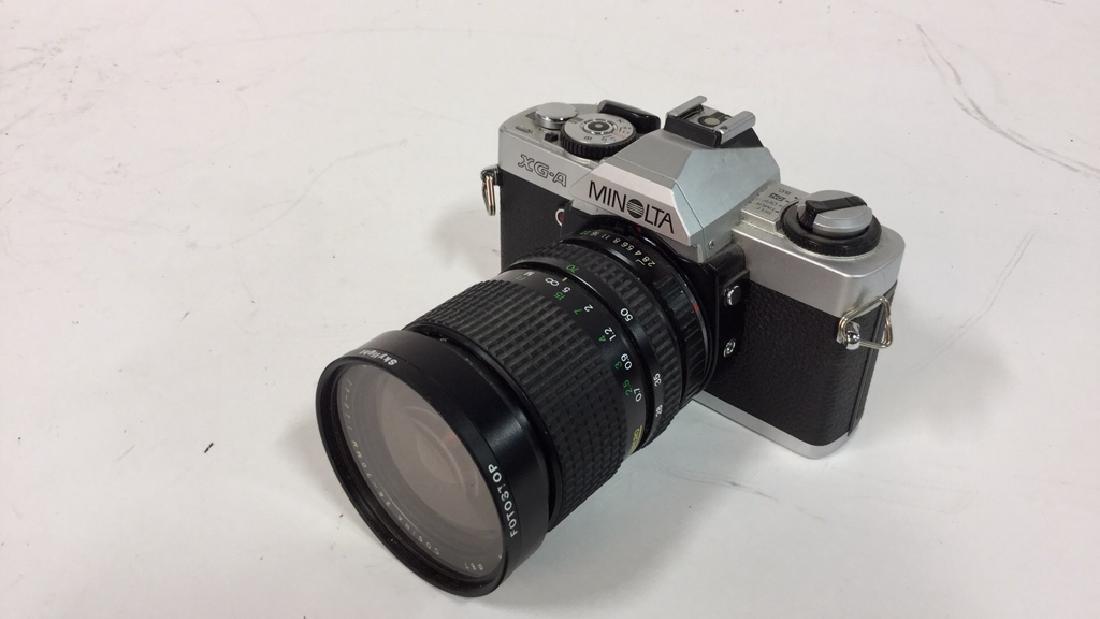 Minolta XG-A  Camera With Lens - 3