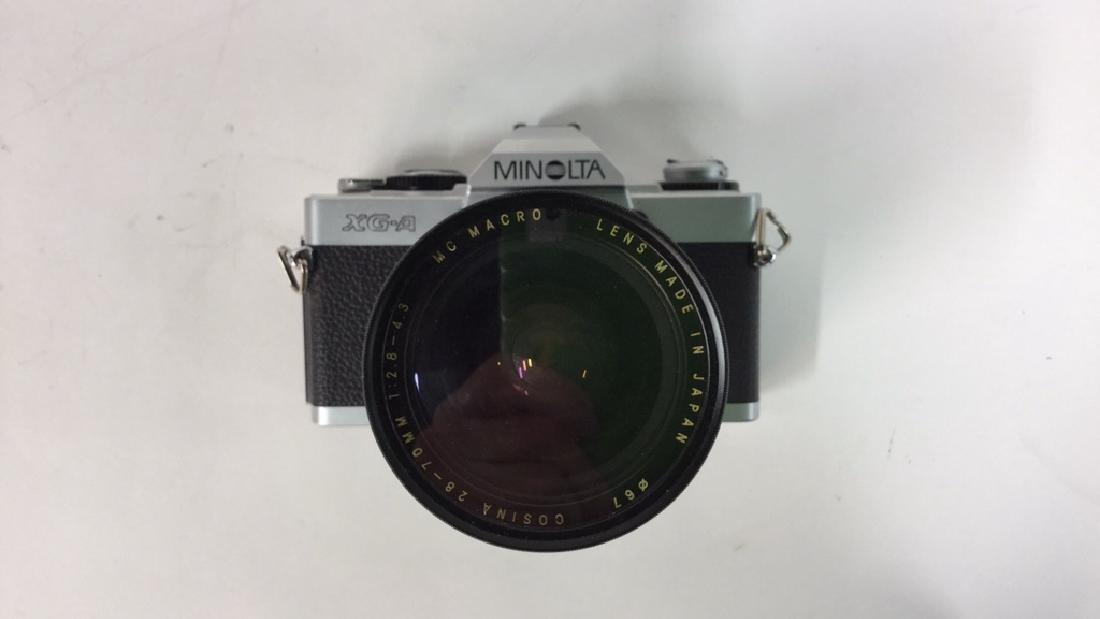 Minolta XG-A  Camera With Lens - 4